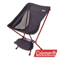 Coleman LEAF隨行椅/黑 超輕鋁合金折疊月亮椅 摺疊椅 休閒椅 折疊椅 折合椅 CM-27855