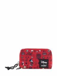 ANELLO กระเป๋า กระเป๋าตังค์ กระเป๋าถือผู้หญิง กระเป๋าสตางค์ Mini Disney x anello DT-G013 สีแดง
