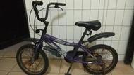二手,16吋jelum兒童腳踏車 紫色 1000元