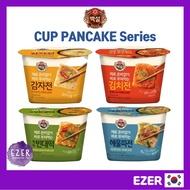 [Korean Food] Beksul Cup Pancake Series 4 Flavors - Kimchi, Potato, Seafood, Mung Bean / korean style pancake