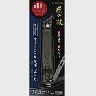 日本綠鐘匠之技鍛造鐵氟龍防銹足用斜口指甲剪(曲線刃,G-1015)