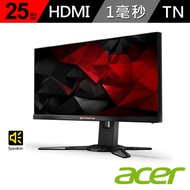 【acer】Predator XB252Q 25型 G-Sync 240Hz 電競螢幕