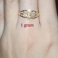 [ Harga Promo ] j-5 * Cincin emas muda 1 gram .,,.,.,