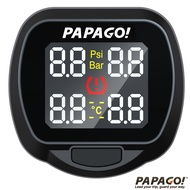 PAPAGO 獨立型胎外式胎壓偵測器 TireSafe S20E