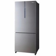 PANASONIC NR-BY608XSSG 2 Doors Fridge, Inverter Compressor, Front Led Lightings
