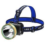 手勢感應防水LED頭燈 頭帶式探照燈 手電筒 照明燈 投射燈 充電式 LED燈 工作燈 防水頭燈