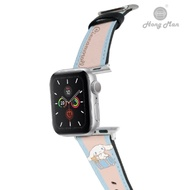 三麗鷗系列 Apple Watch 皮革錶帶 Cinnamoroll 旅行大耳狗 42/44mm