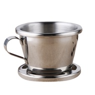 Vietnamese Coffee Filter Stainless Steel Coffee Drip Filter Portable Reusable Paperless Pour over for Office Home
