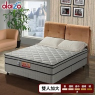 【Dazo】3M防潑水高蓬度+20mm乳膠+蜂巢式獨立筒床墊(雙人加大6尺)