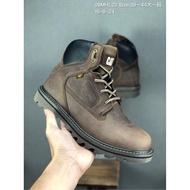 渠道正品 Cat卡特 新款低幫英倫 復古工裝鞋