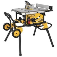東方不敗 DEWALT得偉 腳架附推車 台面可延伸 10吋桌上型圓鋸 木工台鋸 斜切鋸/圓鋸工作桌 DWE7491RS