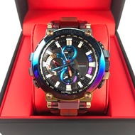 Casio G-Shock Volcanic Lighting Series Rainbow Ion Plated Bezel MTG-B1000VL