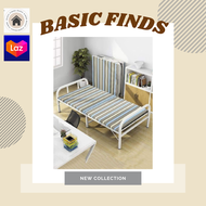 BASIC's Guest Bed Cot Fold Out Bed - Portable Folding Bed Frame