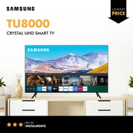 """Samsung TU8000 43"""" 50"""" 55"""" 65"""" 75"""" inch Crystal UHD 4K Smart TV 2020 