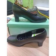 BATA รองเท้าคัชชูผู้หญิงสีดำ มีส้นสูง 5 ซม 751-6670 size 36-41