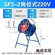 崗位式軸流風機220v工業風扇排氣扇管道式排風機排風扇工業級380v