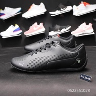 Original Puma_BMW Racing shoes leather Sports training shoes Casual Shoes black