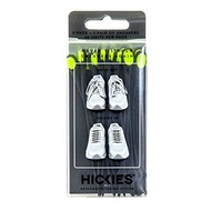 HICKIES Elastic No Tie Shoelaces (Black  Yellow)