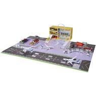 【TOMICA】機場地圖提盒(男孩 小汽車)