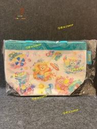 ☆汪將☆日本迪士尼海洋 2019 夏日海灘 達菲 雪莉枚 畫家貓 史黛拉 餐袋 便當袋 保冷保溫 手提袋