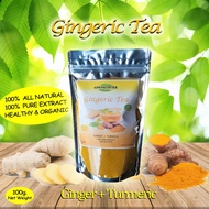 Ginger Tea + Turmeric (GINGERIC TEA)