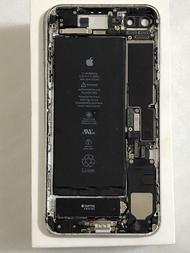 iPhone7 PLUS5.5吋 32 銀色 原拆機 後框總成 測試用主機板 拆機屏幕總成 帶配備 故障機 零件機