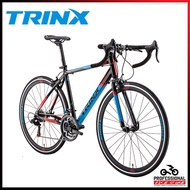stock⭐Road ⭐In Trinx Bike Entry Level Aluminum Curved Handlebar Road Racing 700c Round Long Distance Racing Shimano Shifting CN   YNQJE