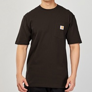 Carhartt Pocket T-Shirt 咖啡 美版 口袋 素面 K87 DKB