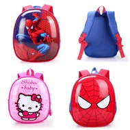 Smiggle Double Shoulder Bag Unicorn Cartoon Pig Child Backpack Beg Sekolah Bag Pack