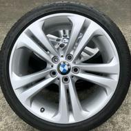 BMW原廠F30/31 19吋鋁圈+輪胎 (失壓續跑胎)