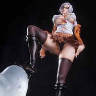 『動漫cos』 Hdge 監獄學園 副會長 白木芽衣子 約25cm PVC 模型 公仔