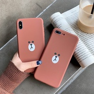 For Huawei Y6 Pro 2018/Y6 Prime 2018 Phone Case Soft TPU Matte Cover Casing