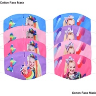 Jojo Siwa 3D Face Mask Cartoon Adult Kids Baby Girls Cotton Protective Masks Anti Dust Face Mask