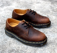 Dr. MARTENS 1461 SHORT SHOES EFFECT USED BROWN