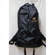 Arcteryx Arro 22 Black Backpack 始祖鳥 後背包 登山 露營 GO OUT OUTDOOR