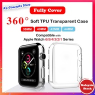 【Ready Stock】Smart Watch Protector Cover i Watch Case Cover AppleWatch Series 6/5/4/3/2/1 Case T500 T600 FT50 F10 W98 W26 W34 U78 Cover Full Protect Cover【Fast Delivery】