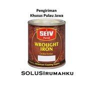 Wrought Iron Paint 1 Ltr Seiv Wrought Iron Copper / Silver / Silver Srnew2296