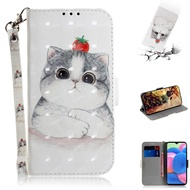 Blessing Cat Samsung A 51/a 71 Flip Phone Case For Samsung Cover