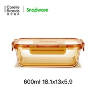 Corning Snapware glass preservation box microwave oven heated lunch box office worker sealed fruit b