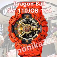 CASIO G-SHOCK นาฬิกาข้อมือแฟชั่นในรูแบบ Dragon Ball รุ่น GA-110JOB-1A4 สุดฮอตในปี2020 หน้าปัด40mm (ไม่มีกล่อง)