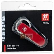 ::bonJOIE:: 德國雙人牌 隨身實用工具組 (含萬用小刀、小剪刀、指甲剪、指甲銼刀及清潔器、鑰匙環)(壓克力套封裝)德國雙人