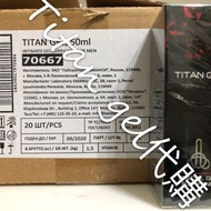 台灣現貨 限量買一送一條紅泰坦 國際代購 俄羅斯泰坦凝膠  titan gel 男用凝膠  白色瓶身 卡扣瓶口