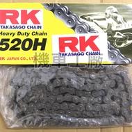 機車工廠 雲豹200 R3 RK 520-120目 鏈條 加重鏈條 日本製造