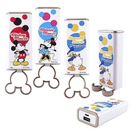 Disney迪士尼 6000 造型指環立架行動電源_泡泡系列
