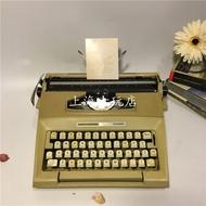 隨機發!優質賣家!!西洋進口打字機 英格蘭產SMITH corona英文打字機  少見黃色收藏