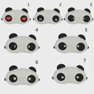 หน้ากากสำหรับ Sleep น่ารัก PANDA Sleeping Eye Blindfold Eyeshade Breathable เด็กผู้หญิงกระเป๋าเดินทาง Health Care Aid Eyepatch เครื่องมือ
