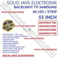 Tv Backlight Samsung 55 Inc Ua 55nu7100 55nu7020 55nu7090 55nu7140 55nu Inch In Led Smd Lights