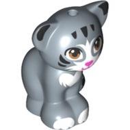 LEGO 樂高 人偶配件 41167 41351 41365 貓咪 小貓 動物 沙藍色 11602pb04