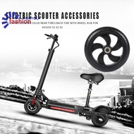 ✪[IN STOCK/COD]✪Electric Scooter Solid Rear Wheel Back Tire w/Wheel Hub for Kugoo S1 S2 S3