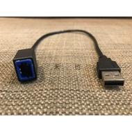 三菱 NISSAN Nissan 音響主機 USB 線 線組 轉接 市售 改裝主機 沿用原廠USB盲孔座